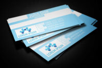 Blue Medical Business Card Template – Business Cards Lab in Medical Business Cards Templates Free