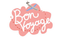 Bon Voyage Have Nice Trip Banner Template within Bon Voyage Card Template