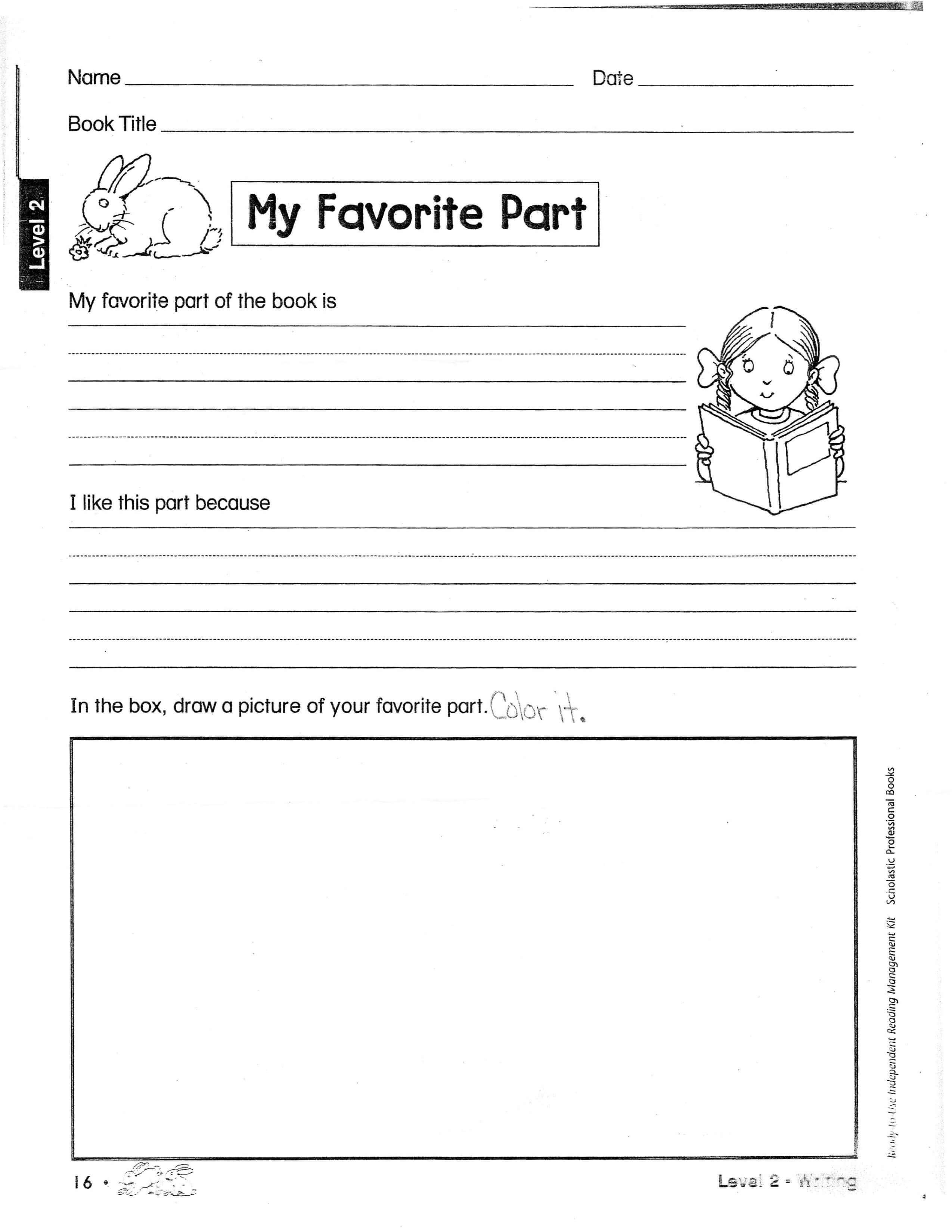 Book Report Outline | Second Grade Book Report Layout | Book regarding 2Nd Grade Book Report Template