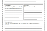 Book Review Template Differentiated.pdf – Google Drive for Book Report Template High School
