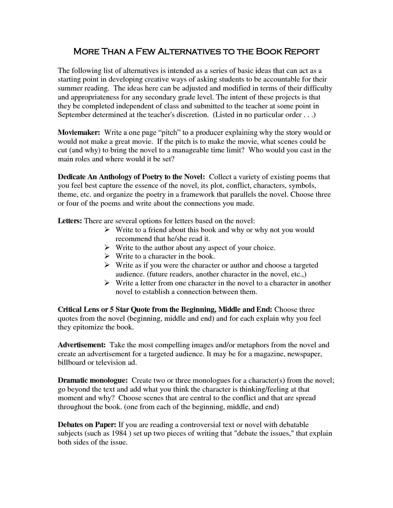 Book Template Category Page 1 - Izzness pertaining to College Book Report Template