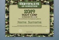 Boot Camp Internship Program Certificate Template Stock Inside Boot Camp Certificate Template