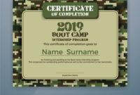 Boot Camp Internship Program Certificate Template Throughout Boot Camp Certificate Template