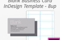 Bootstrap Creative | Blank Business Cards, Indesign in Blank Business Card Template Download