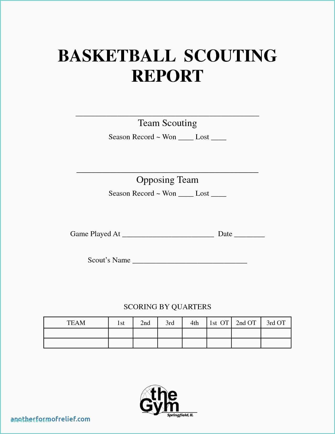 Bowling Spreadsheet And Basketball Scouting Report Template With Regard To Scouting Report Template Basketball
