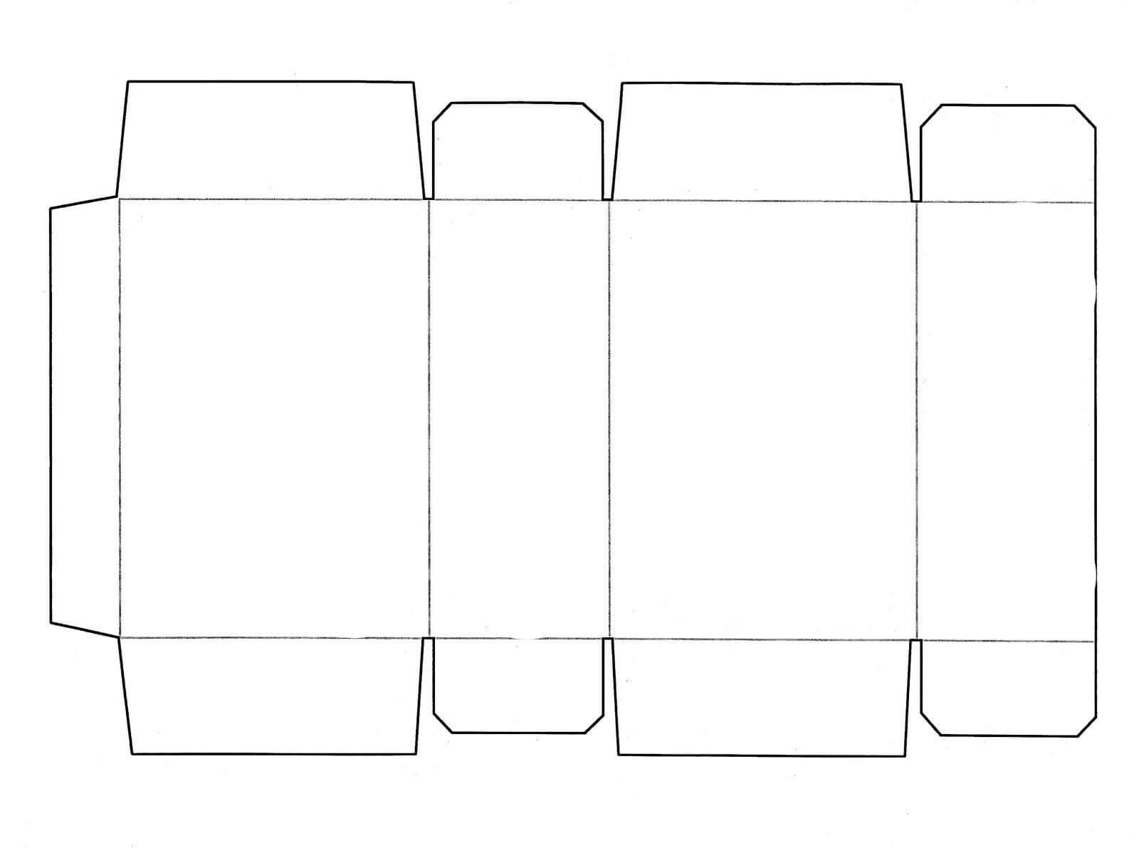 Box Templates | This Is A Cereal Box Template That Fits Your throughout Card Box Template Generator