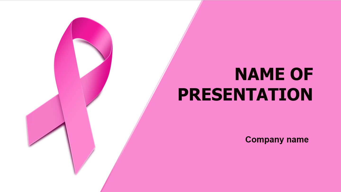 Breast Cancer Powerpoint Presentation Templates | I4Tiran For Free Breast Cancer Powerpoint Templates