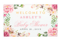 Bridal Shower Banner Template – Bizoptimizer inside Bridal Shower Banner Template