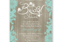 Bridal-Shower-Invitations-Blank-Templates | Wedding Shower for Blank Bridal Shower Invitations Templates