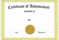 Brilliant Ideas For Powerpoint Award Certificate Template in Powerpoint Award Certificate Template