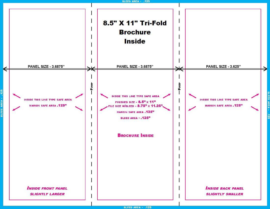 Brochure-8.5X11-Trifold-Inside | Templates, Graphic Design regarding 8.5 X11 Brochure Template