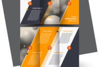 Brochure Design Brochure Template Creative Intended For E Brochure Design Templates