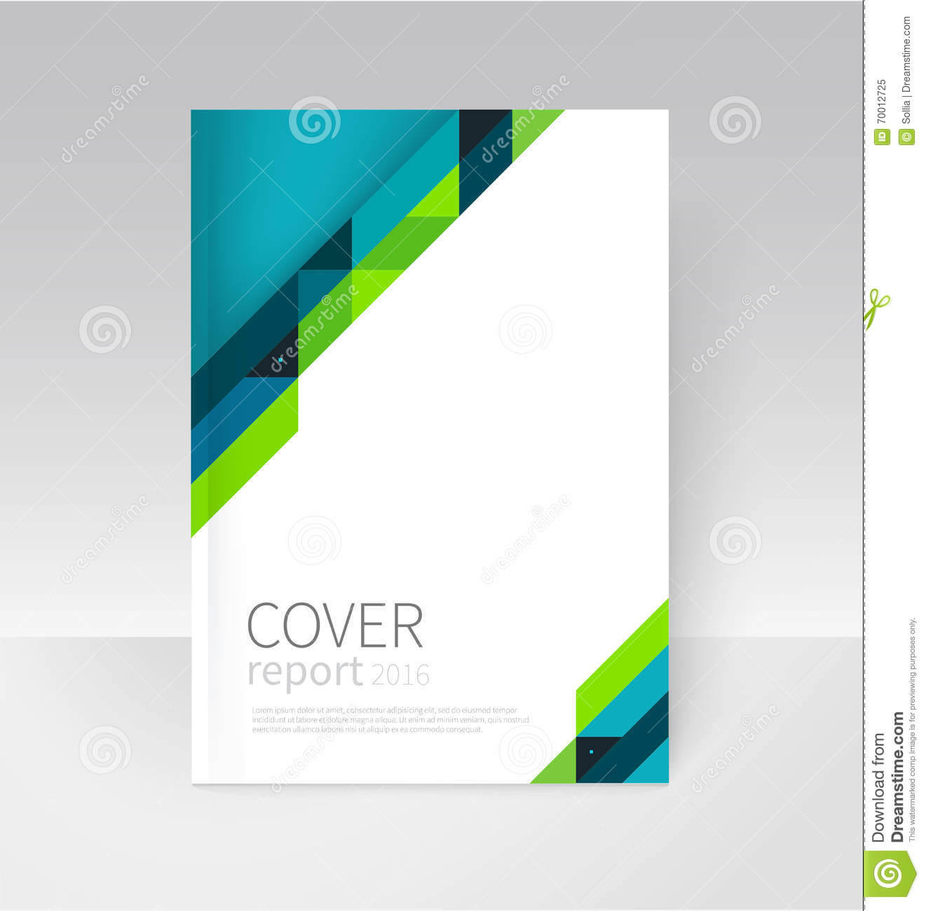 Brochure, Flyer, Poster, Annual Report Cover Template. Stock Pertaining To Annual Report Template Word Free Download