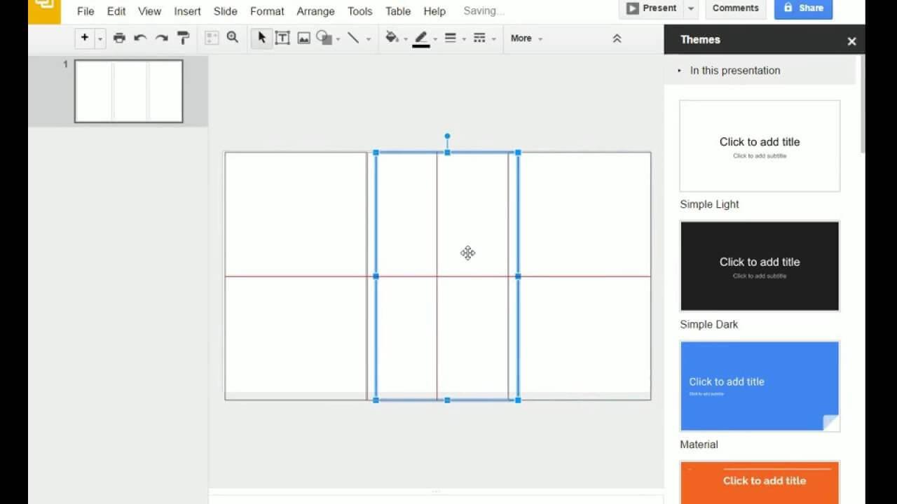 Brochure (Step 1) - Google Slides - Creating A Brochure With Brochure Template For Google Docs