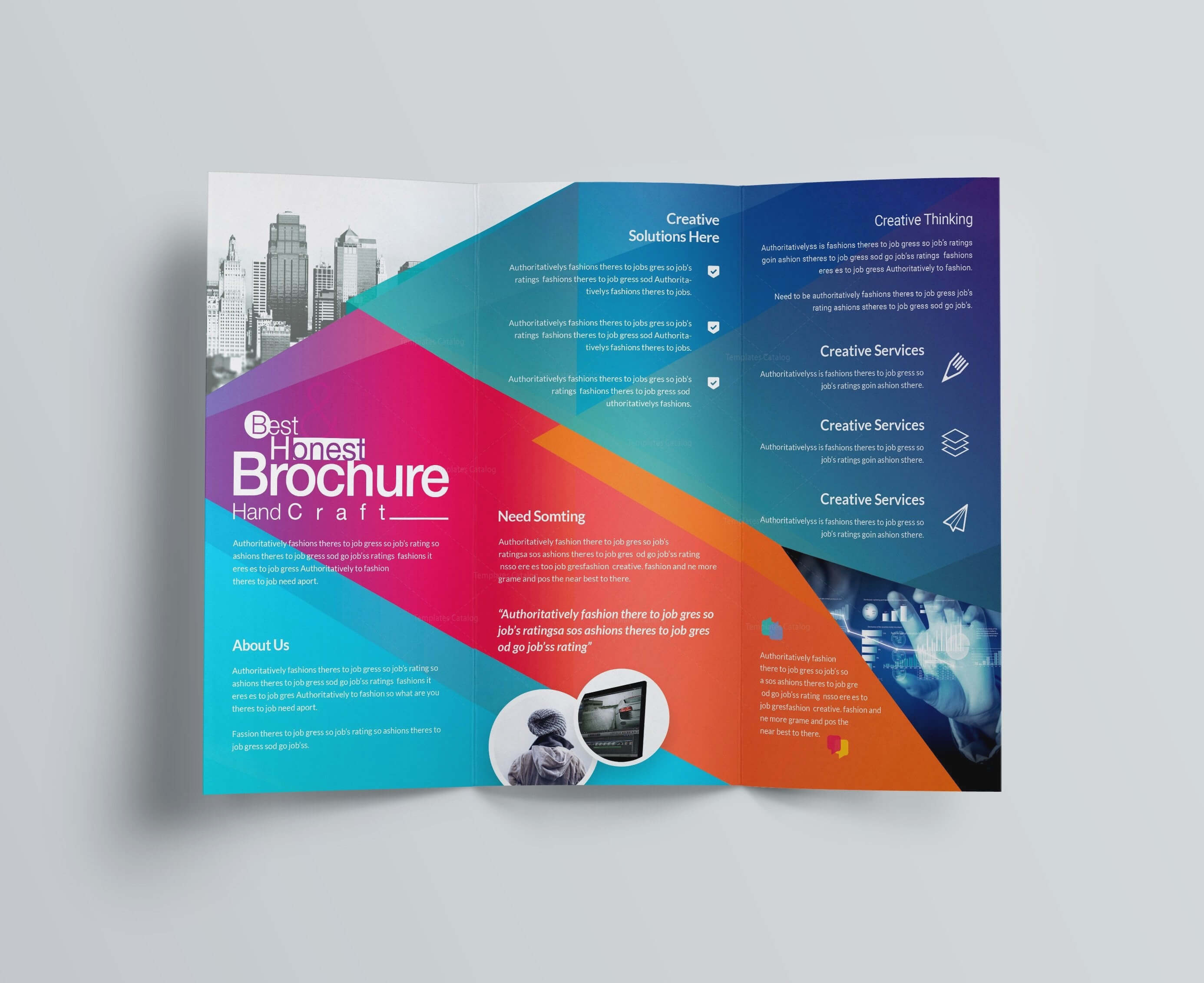 Brochure Template Archives - Atlantaauctionco in Ngo Brochure Templates