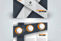 Brochure Template. Creative Design Trend For Professional Corporate.. with Professional Brochure Design Templates