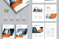 Brochure Template For Indesign - A4 And Letter | Indesign within Brochure Templates Free Download Indesign