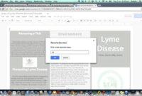 Brochure Template In Google Drive in Google Drive Brochure Template