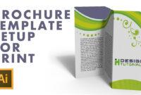 Brochure Template Setup For Print In Adobe Illustrator pertaining to Brochure Templates Adobe Illustrator