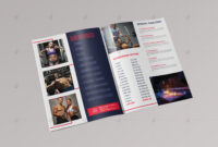 Brochure Template – Vsual intended for Membership Brochure Template