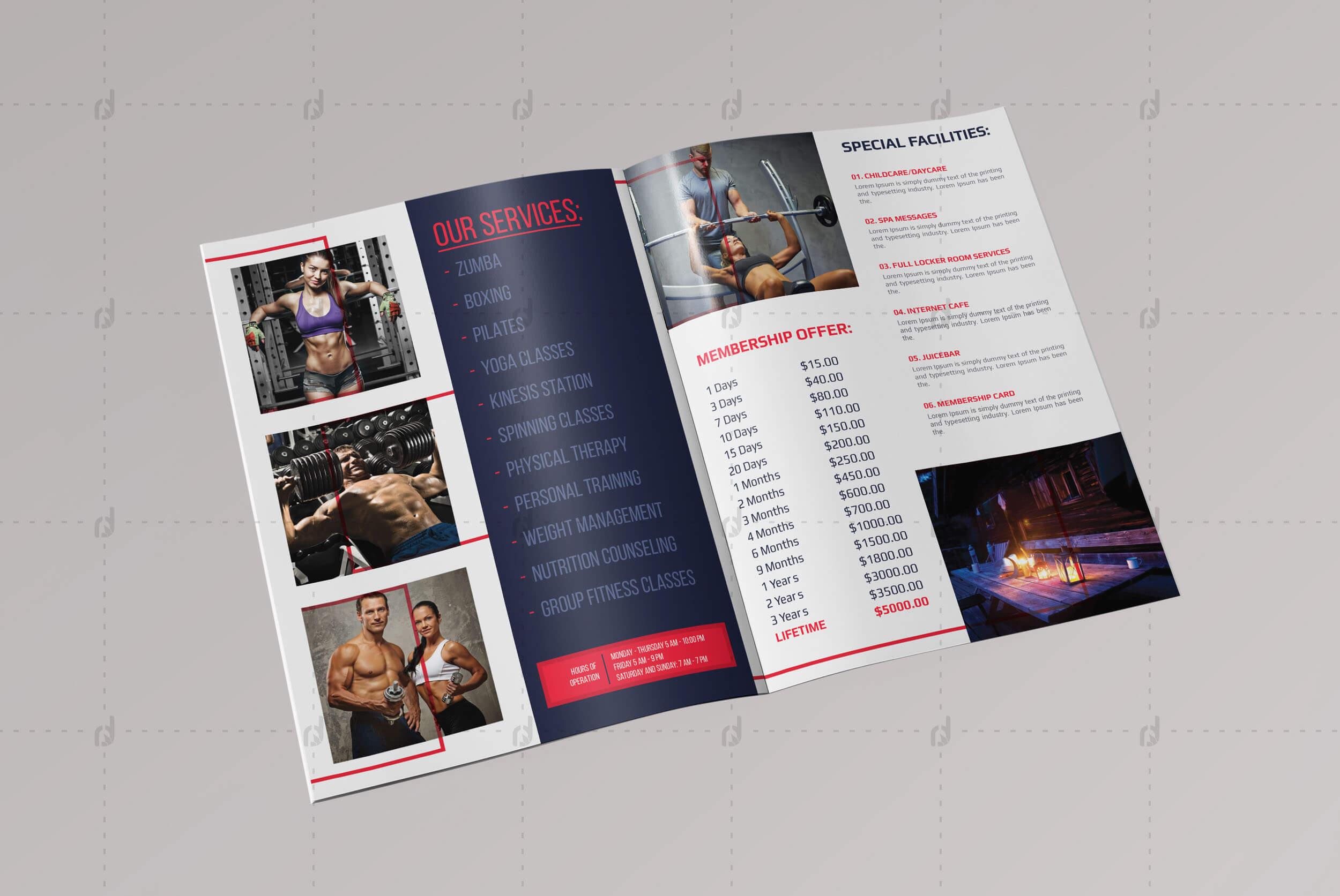 Brochure Template - Vsual intended for Membership Brochure Template