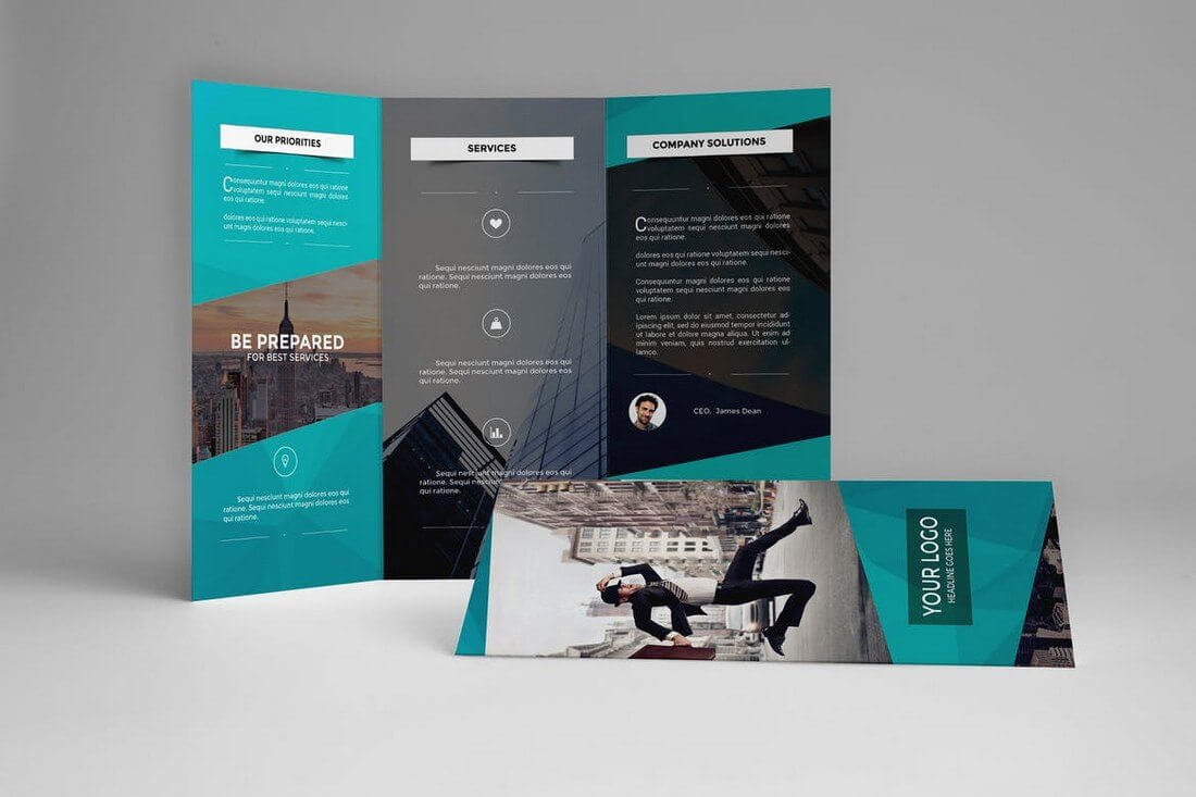 Brochure Templates | Design Shack Intended For Good Brochure Templates