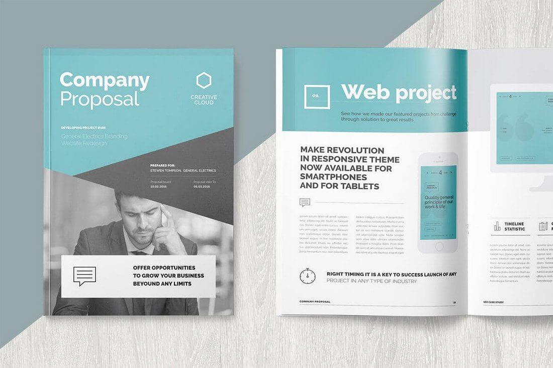 Brochure Templates   Design Shack With E Brochure Design Templates