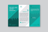 Brochure Templates Free Vector Art – (76,472 Free Downloads) intended for One Sided Brochure Template