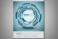 Brochures Book Or Flyer With Abstract Technical intended for Technical Brochure Template