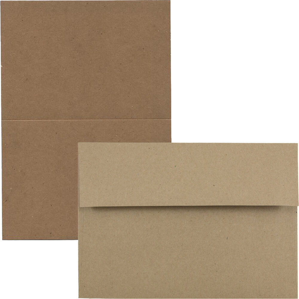 Brown Kraft Paper Bag Recycled Cards And Envelopes | Jam Paper with regard to Recollections Cards And Envelopes Templates