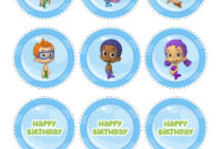 Bubble Guppies Birthday Banner Template – Atlantaauctionco for Bubble Guppies Birthday Banner Template