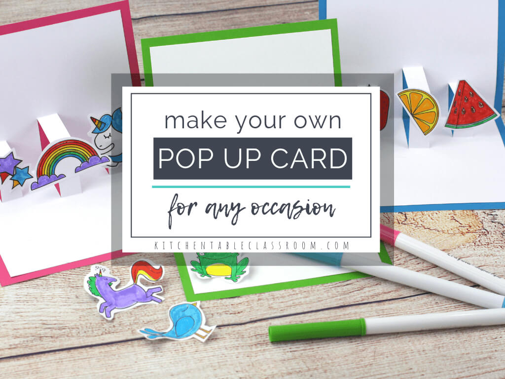 Build Your Own 3D Card With Free Pop Up Card Templates - The throughout Diy Pop Up Cards Templates