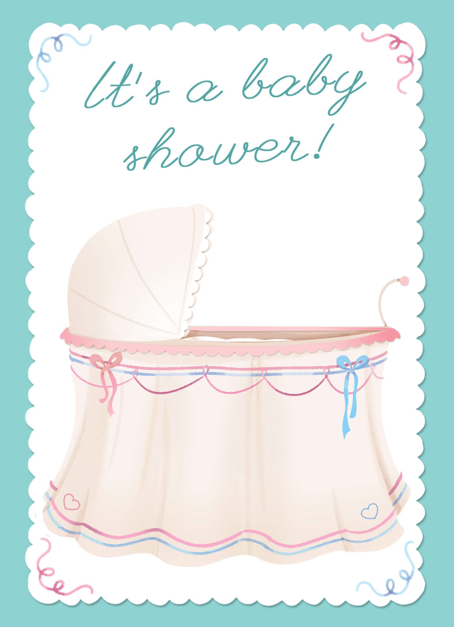 Bundle Of Joy - Baby Shower Invitation Template (Free in Free Baby Shower Invitation Templates Microsoft Word