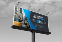 Business Billboard Banner Template 000352 within Street Banner Template