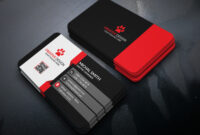 Business Card Design (Free Psd) On Behance inside Calling Card Free Template