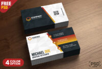 Business Card Design Templates Psd – Psd Zone pertaining to Calling Card Template Psd
