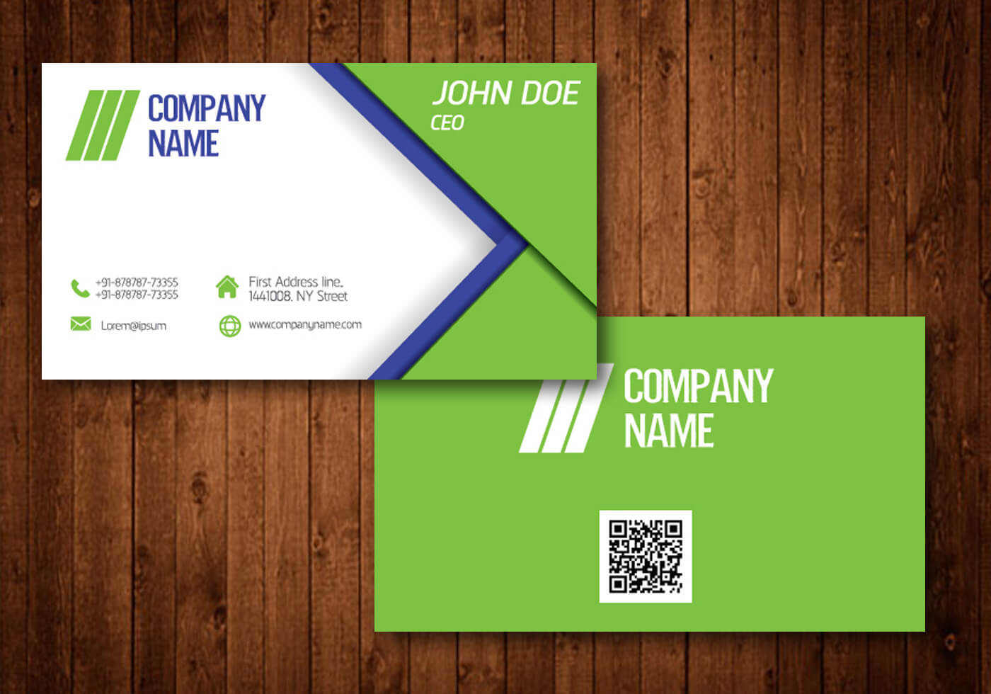 Business Card Free Vector Art - (109,932 Free Downloads) regarding Templates For Visiting Cards Free Downloads