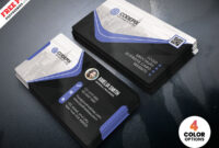 Business Card Psd Templatepsd Freebies On Dribbble with Visiting Card Psd Template