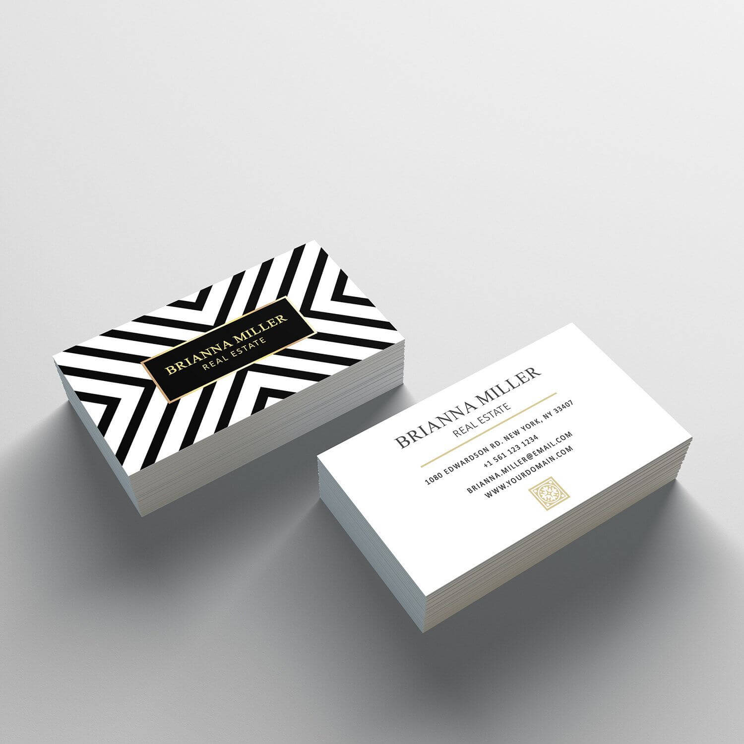 Business Card Template - 2 Sided Business Card Design Regarding 2 Sided Business Card Template Word