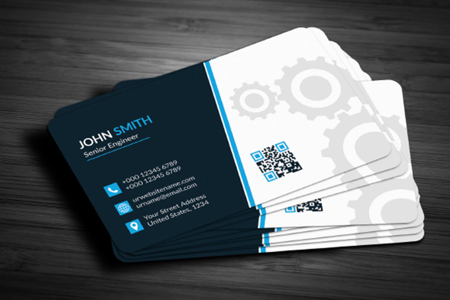 Business Card Template Free Download - Maxpoint Hridoy Pertaining To Download Visiting Card Templates