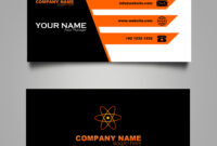Business Card Template Free Downloads Psd Fils. In 2019 intended for Templates For Visiting Cards Free Downloads