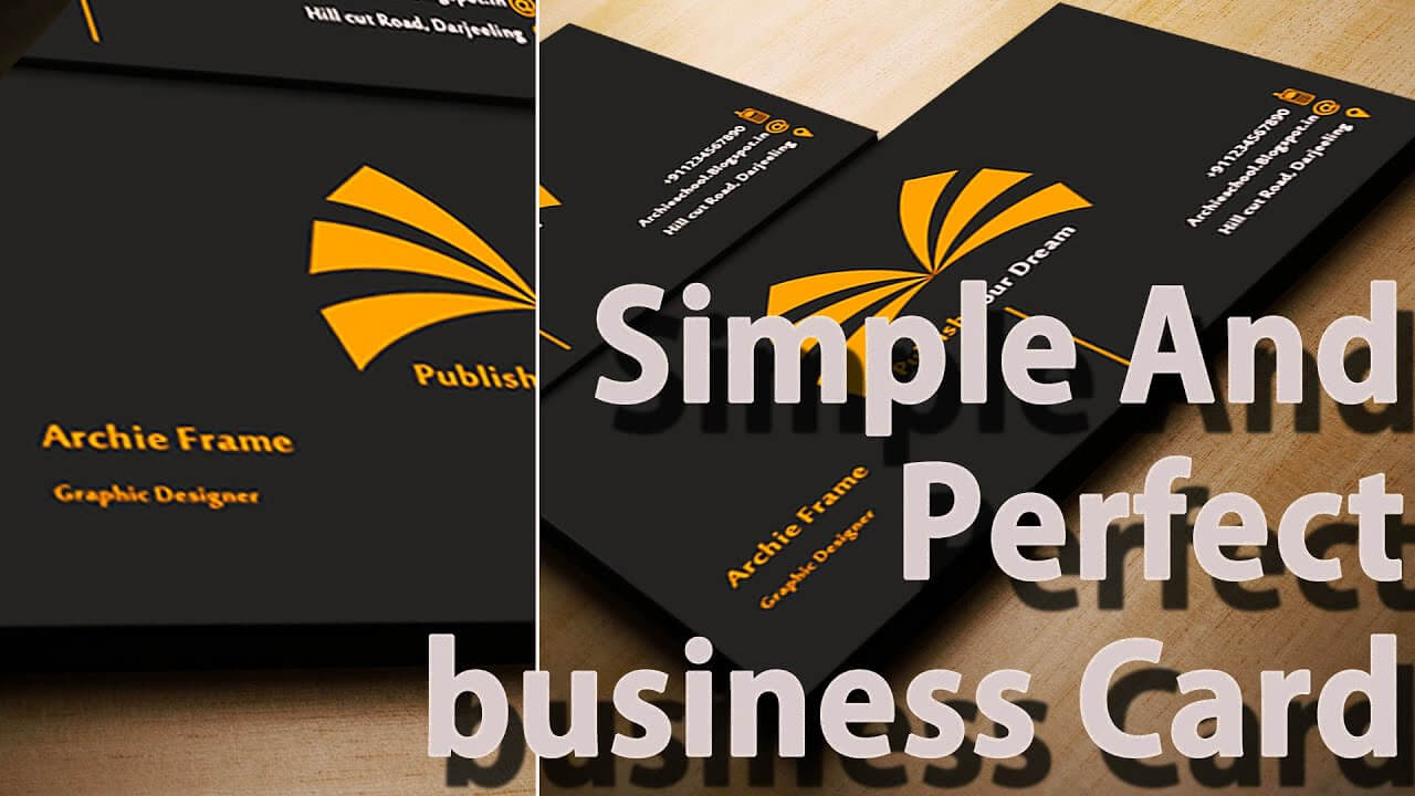 Business Card Templates – Create Your Own – Photoshop For Create Business Card Template Photoshop
