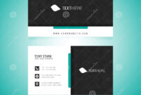 Business Card Vector Template Stock Vector – Illustration Of in Adobe Illustrator Business Card Template