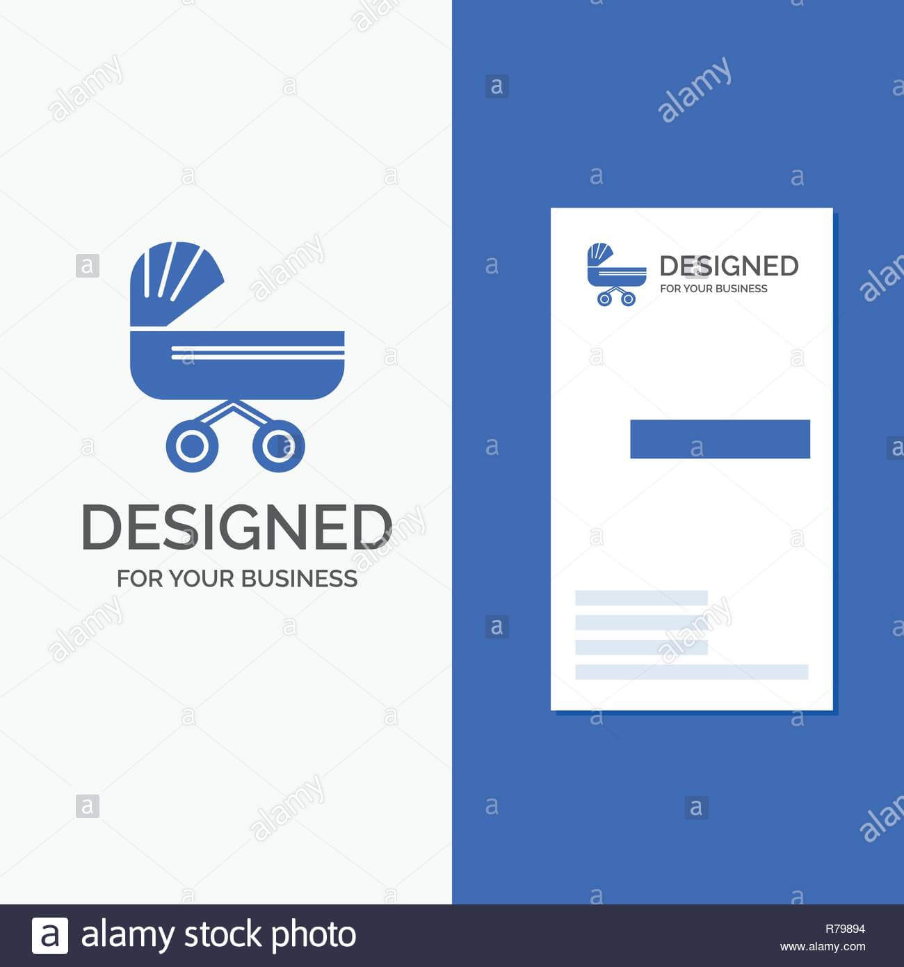 Business Logo For Trolly, Baby, Kids, Push, Stroller throughout Push Card Template