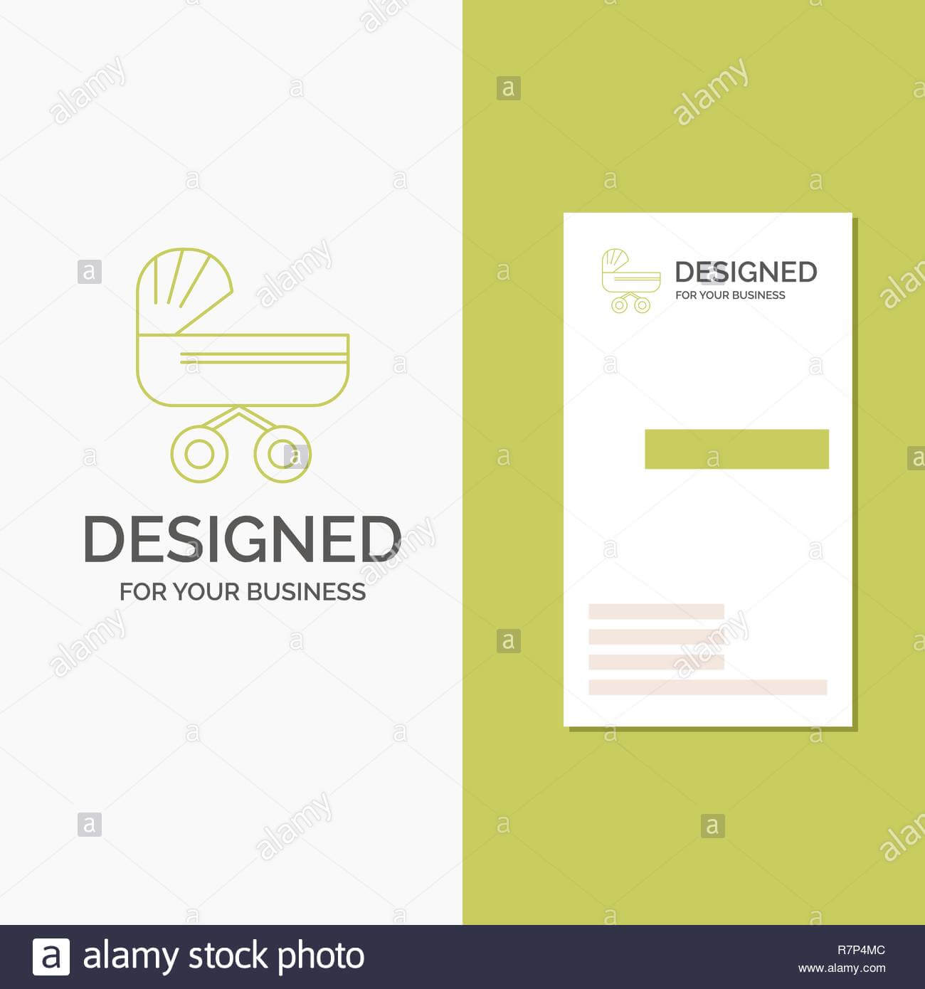 Business Logo For Trolly, Baby, Kids, Push, Stroller with regard to Push Card Template