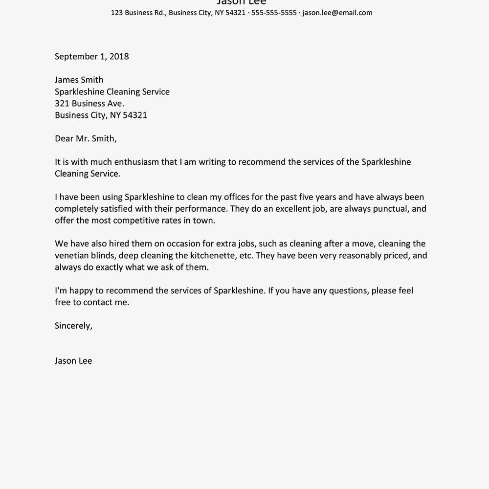 Business Reference Letter Examples With Regard To Business Reference Template Word