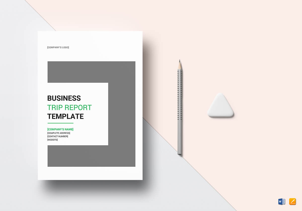 Business Trip Report Template Regarding It Report Template For Word