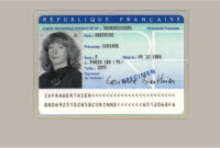 Buy French Original Id Card Online, Fake National Id Card Of regarding French Id Card Template