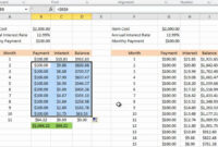 Calculating Credit Card Payments In Excel 2010 within Credit Card Payment Spreadsheet Template
