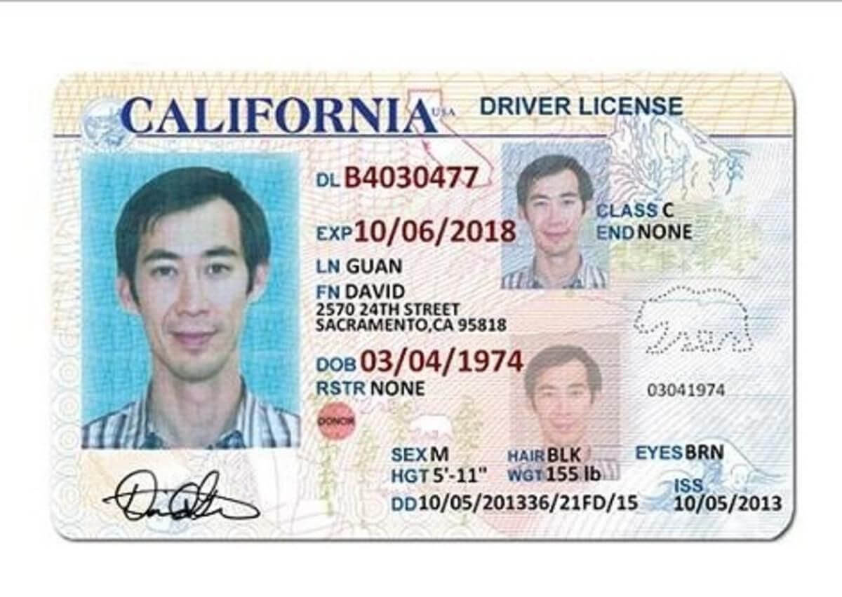 California Drivers License | Tt Templates In 2019 | Drivers regarding Blank Drivers License Template
